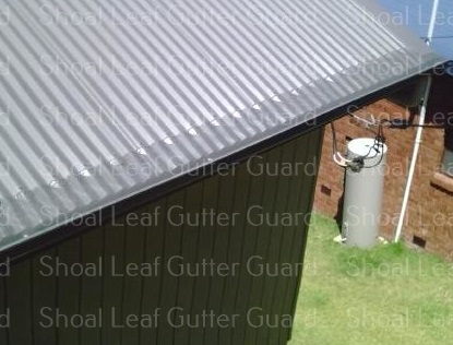 Leaf Stopper to corrugated colorbond - Gutter guard St Georges Basin - Leaf guard St Georges Basin